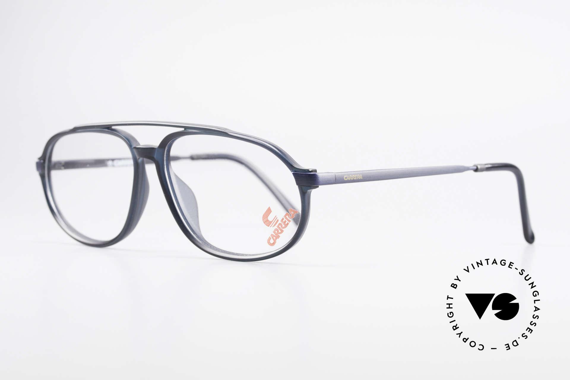 Carrera 4900 90er Vintage Brille No Retro, zudem Federscharniere für eine optimale Passform, Passend für Herren