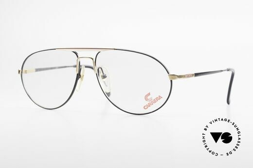 Carrera 5340 Vintage Aviator Brille No Retro Details