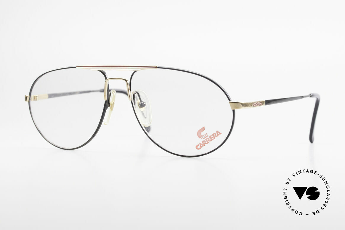 Carrera 5340 Vintage Aviator Brille No Retro