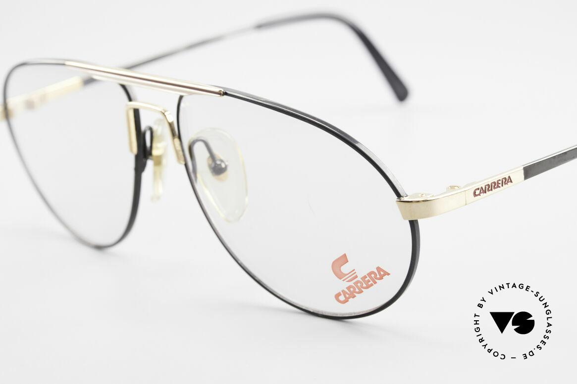 Carrera 5340 Vintage Aviator Brille No Retro, ungetragen (wie alle unsere 90er Carrera Brillen), Passend für Herren