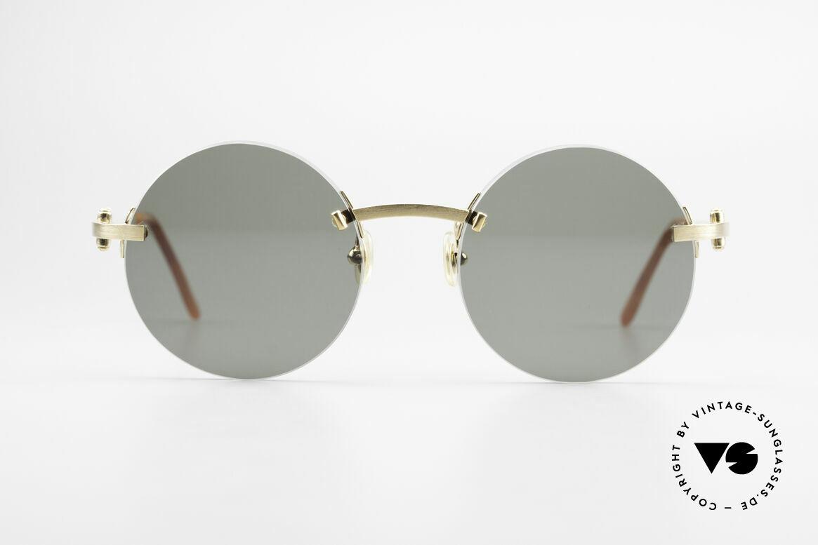 Cartier C-Decor Madison Runde Luxus Sonnenbrille