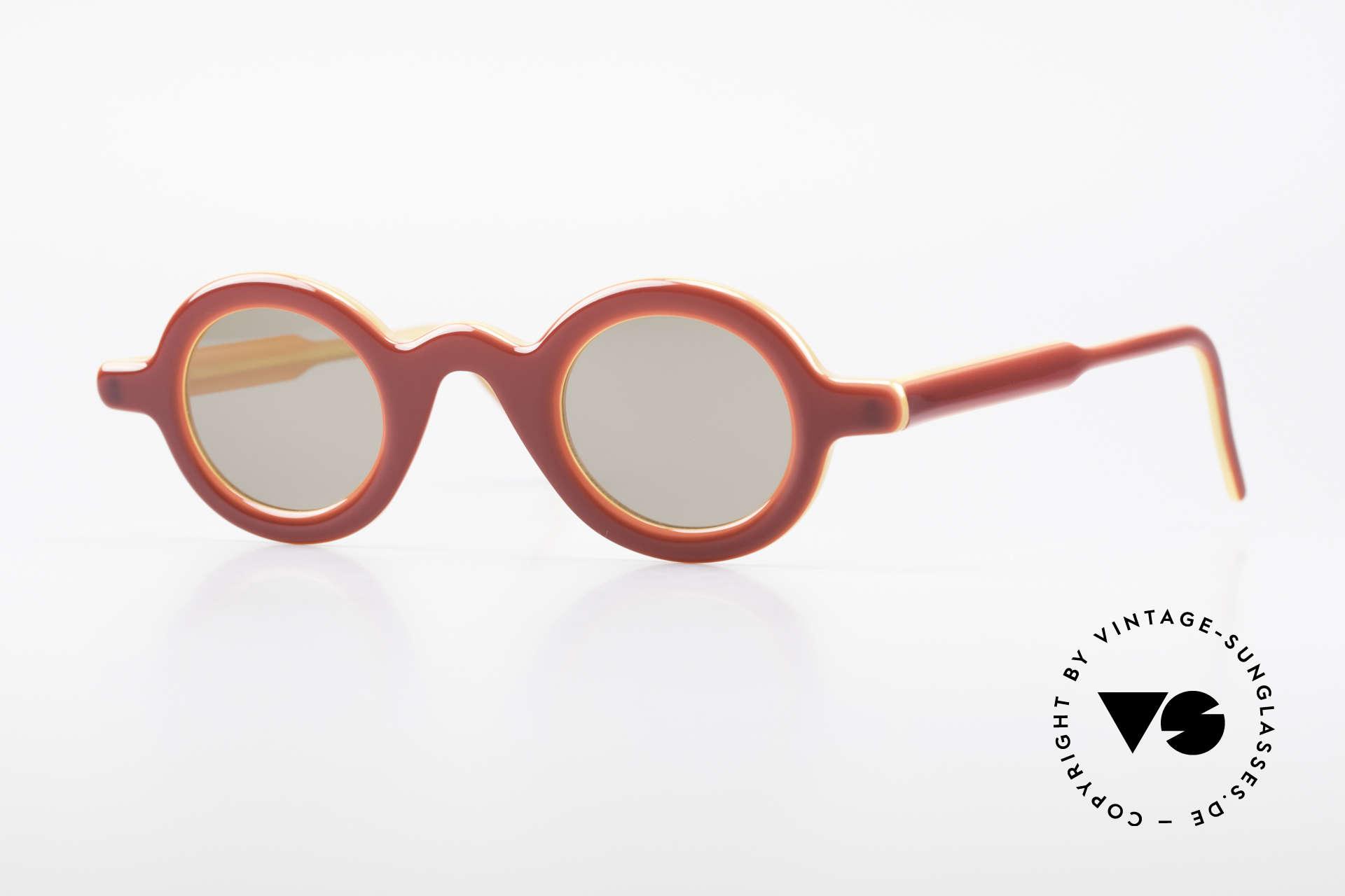 Theo Belgium Model 88 Satisfashion by Theo Belgium, vintage Brille der Theo SATISFASHION Serie von 2001, Passend für Herren und Damen