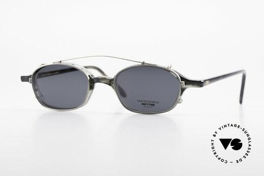 Oliver Peoples OP561 Vintage 90er Brille Mit Clip Details