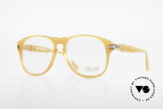 Persol 649/VL Ratti Steve McQueen Vintage Brille Details