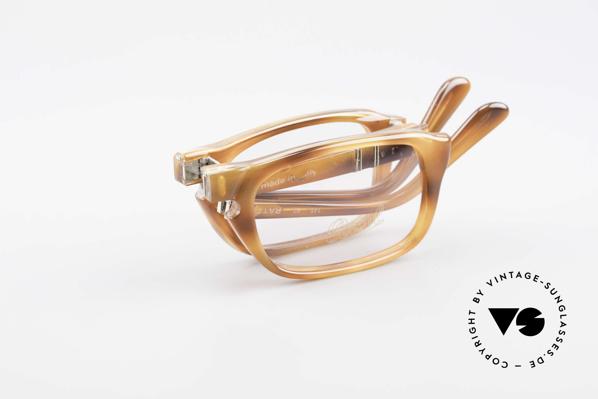 Persol Ratti 813 Folding Vintage Faltbrille Lesebrille, Größe: medium, Passend für Herren