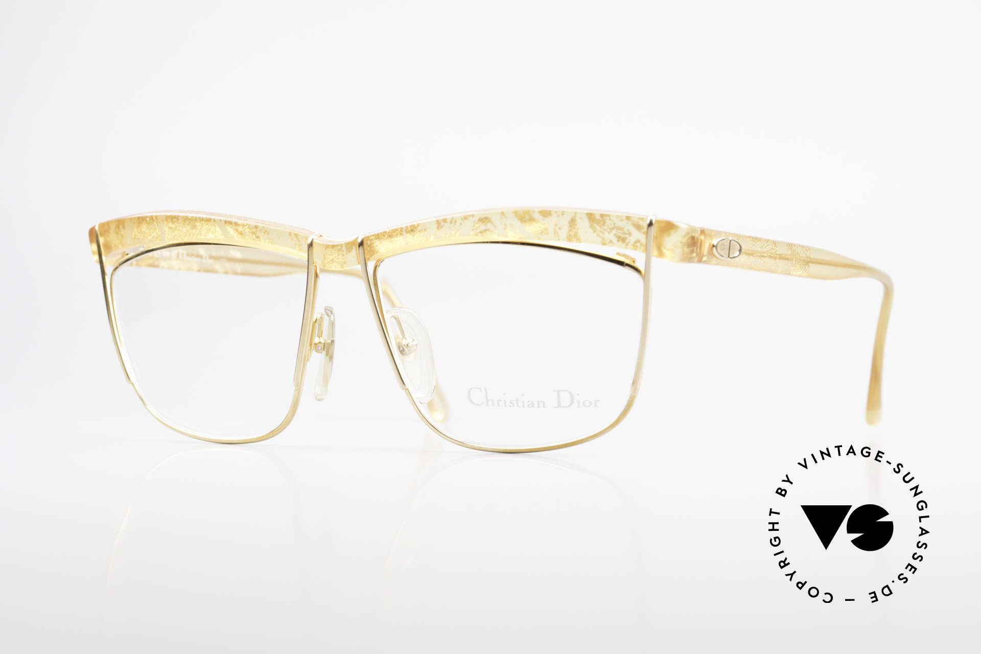 Christian Dior 2552 90er Vintage Brille Damen, außergewöhnliche Dior Brillenfassung von 1990, Passend für Damen