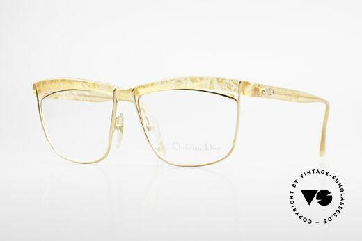 Christian Dior 2552 90er Vintage Brille Damen Details