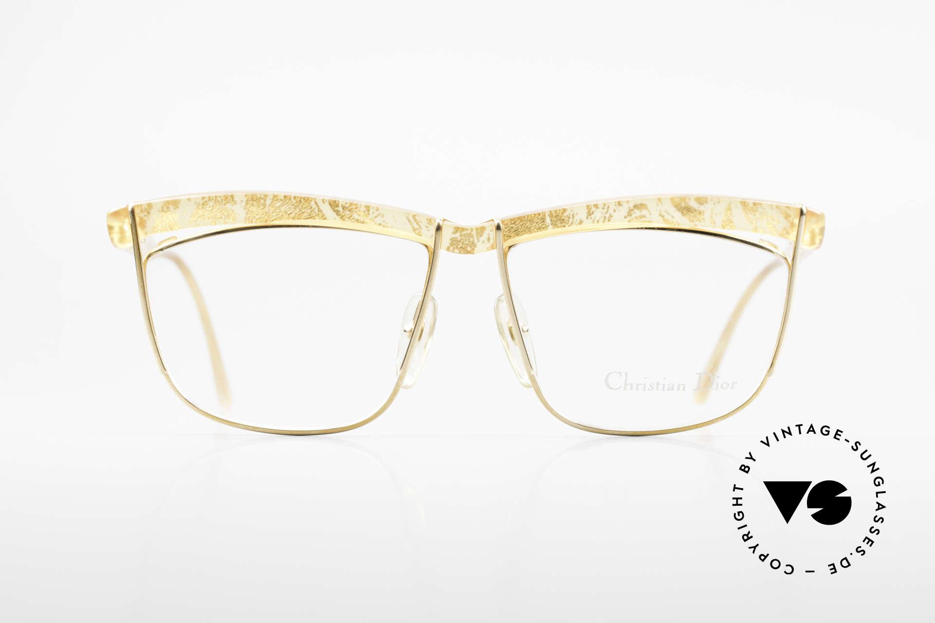 Christian Dior 2552 90er Vintage Brille Damen, ein wahres Prunkstück in puncto Brillendesign, Passend für Damen