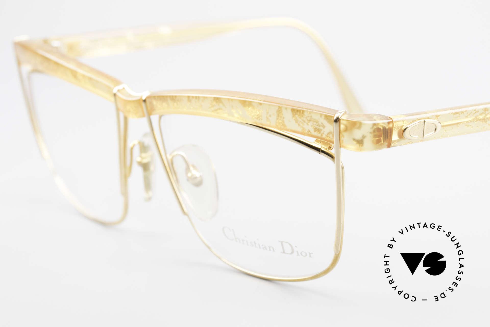 Christian Dior 2552 90er Vintage Brille Damen, ungetragen (wie alle unsere vintage Dior Brillen), Passend für Damen