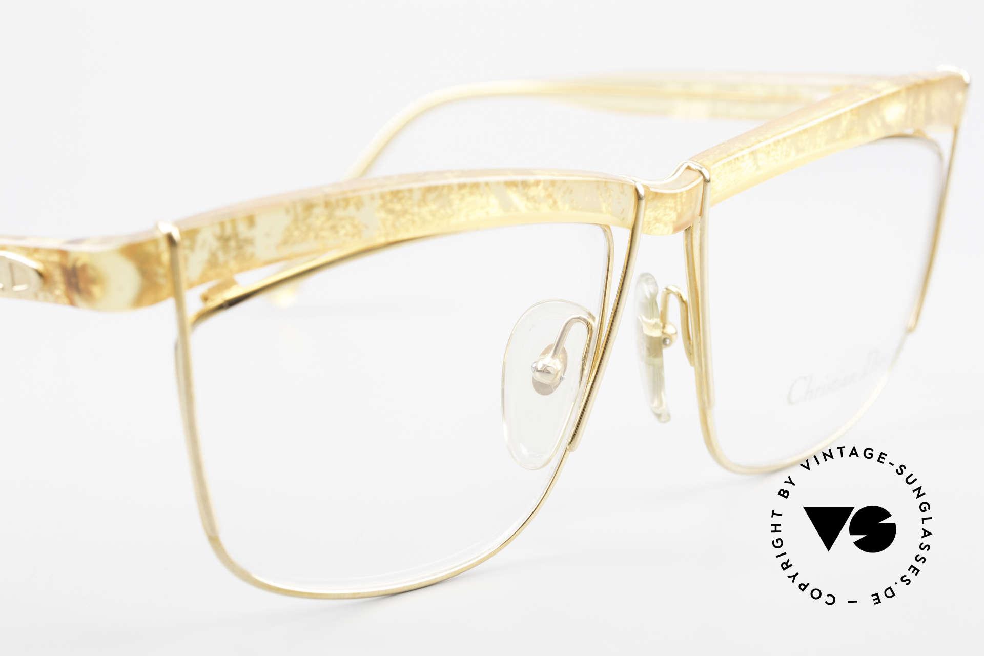 Christian Dior 2552 90er Vintage Brille Damen, keine Retrobrille, sondern ein echtes altes Unikat, Passend für Damen