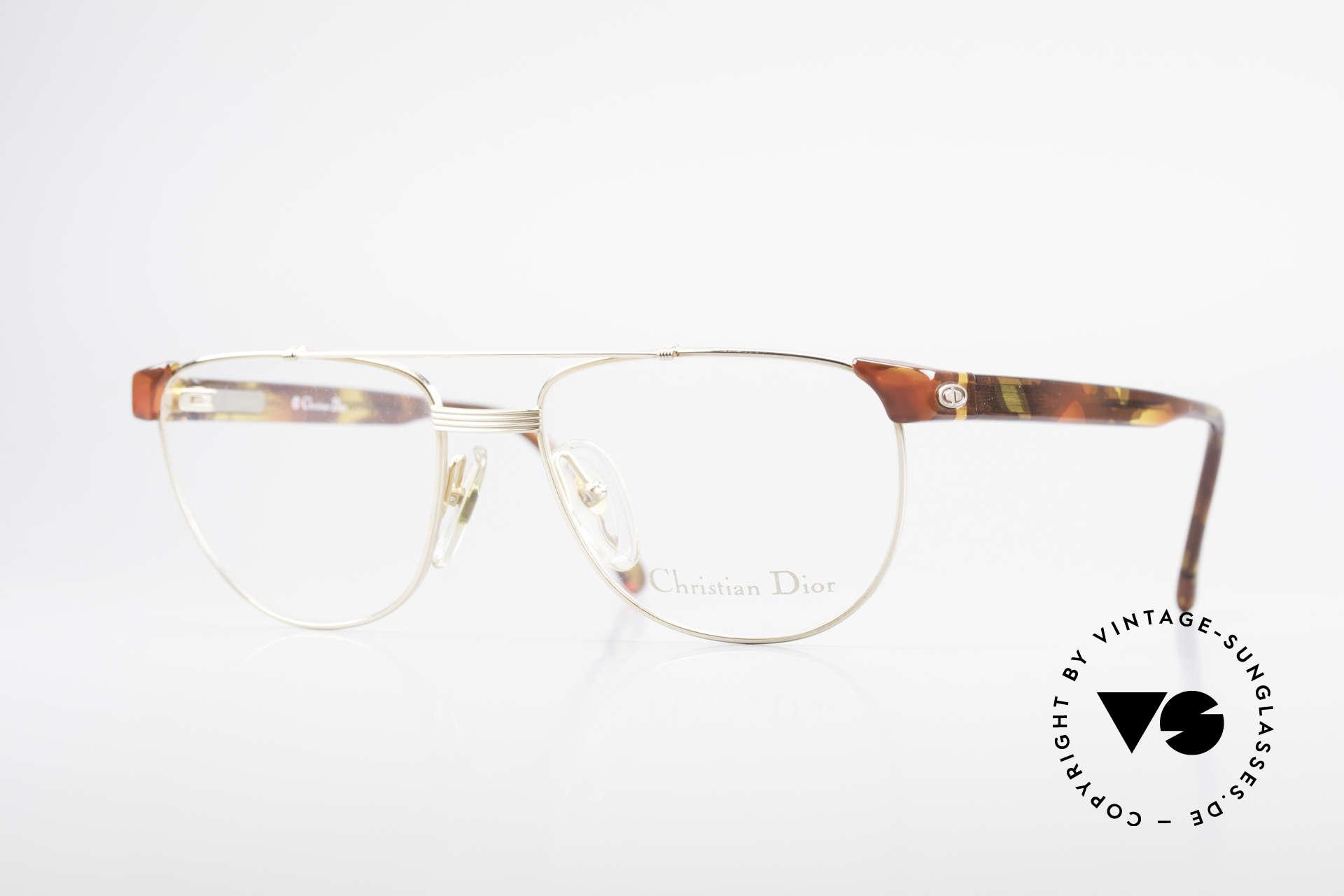 """Christian Dior 2722 90er Designer Brille Unisex, klassische """"Kombi-Brille' von Dior aus den 90ern, Passend für Herren und Damen"""