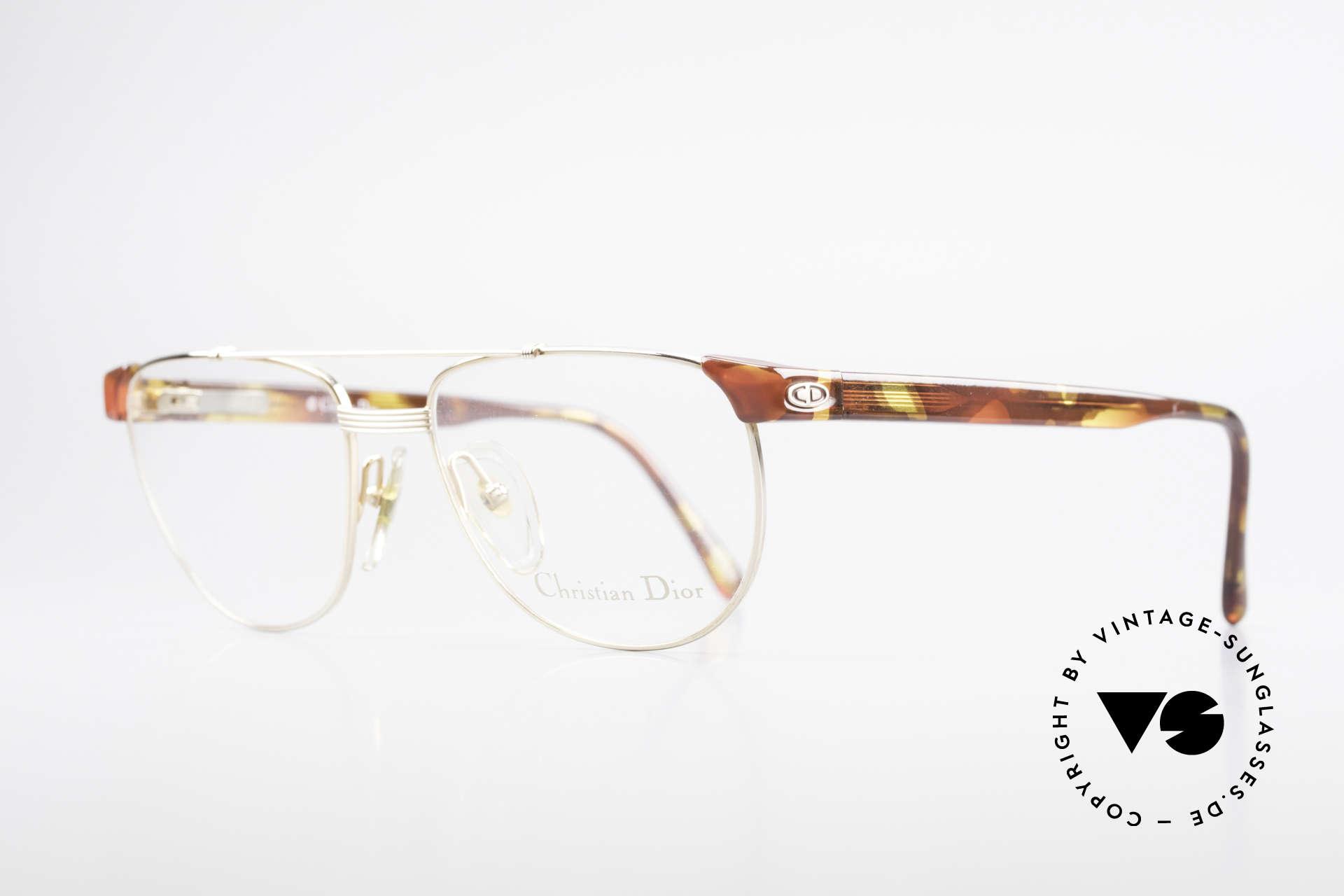 Christian Dior 2722 90er Designer Brille Unisex, schlichtweg ein zeitloser Klassiker; echt vintage!, Passend für Herren und Damen