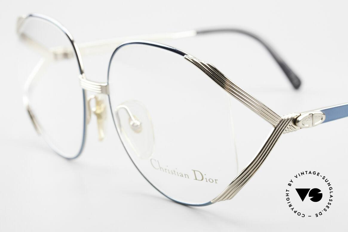 Christian Dior 2387 Damen Vintage Brille Rarität, ungetragen (wie alle unsere Dior Brillengestelle), Passend für Damen