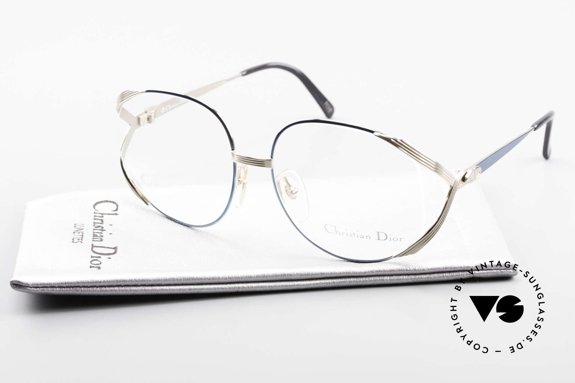 Christian Dior 2387 Damen Vintage Brille Rarität, Größe: medium, Passend für Damen