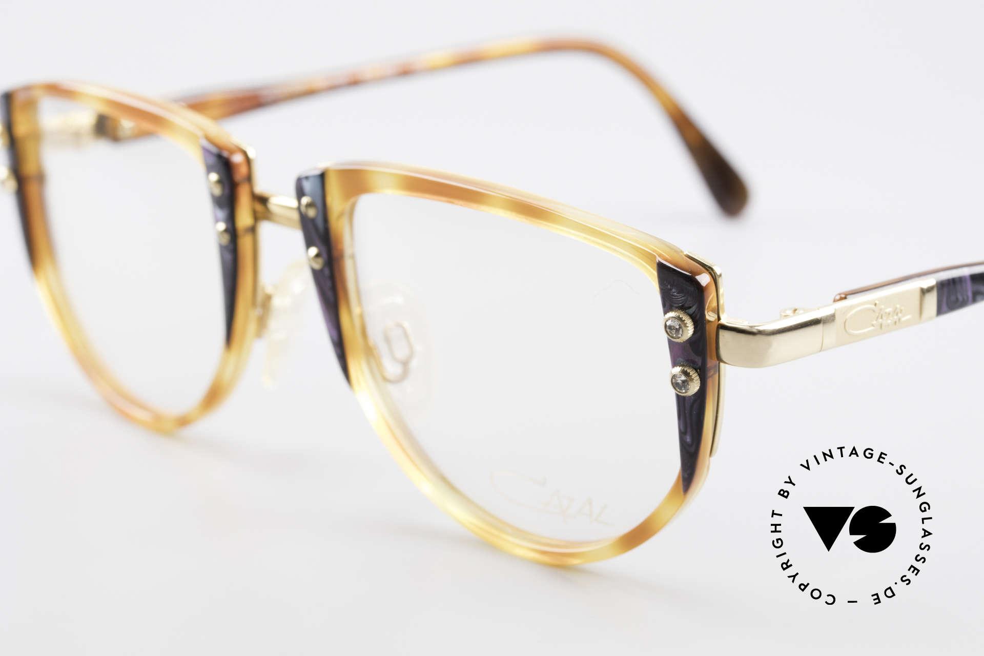 Cazal 332 90er Vintage Cazal Brille OG, ungetragen (wie alle unsere vintage Cazal Brillen), Passend für Damen