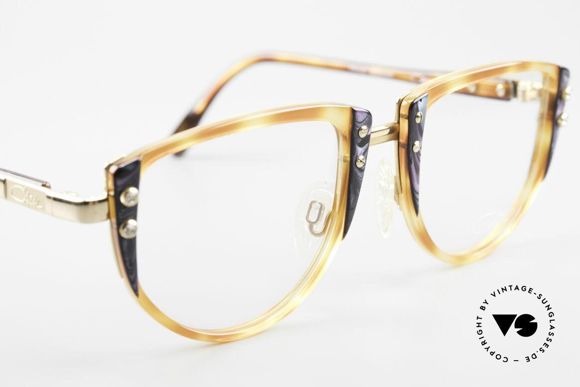 Cazal 332 90er Vintage Cazal Brille OG, KEINE Retrobrille; ein altes Original von 1989/90, Passend für Damen