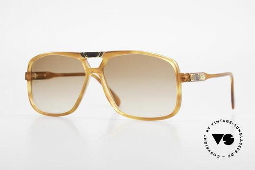 Cazal 637 Rare HipHop Sonnenbrille 80er Details