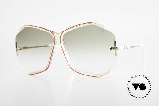 Cazal 852 80er Vintage Sonnenbrille XXL Details