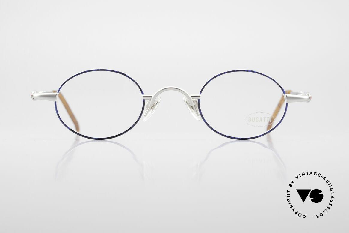 Bugatti 29838 Rare 90er Herren Luxusbrille, sehr elegante vintage BUGATTI Brillenfassung, Passend für Herren