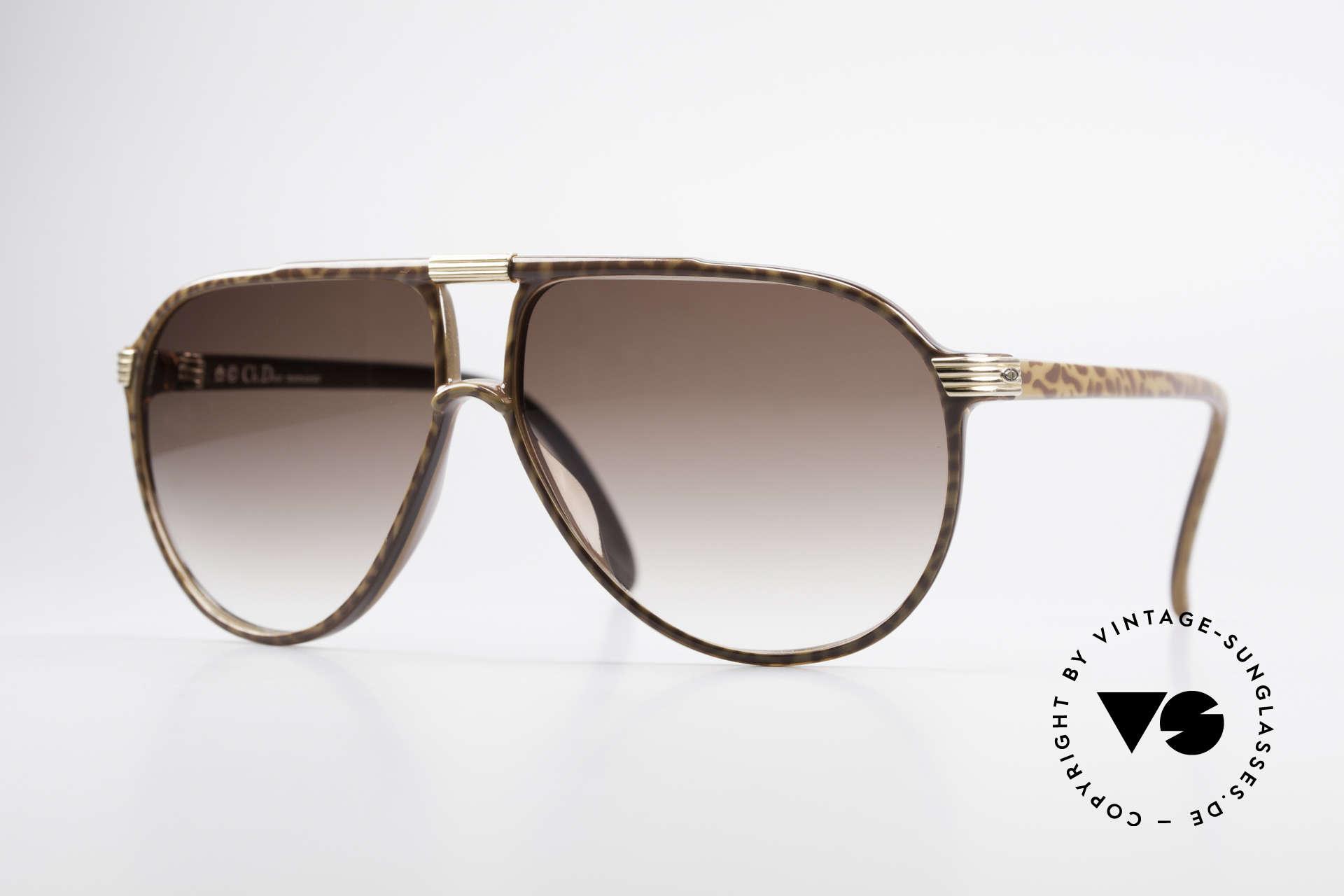 Christian Dior 2300 80er Aviator Sonnenbrille, orig. Christian Dior vintage Sonnenbrille von 1985, Passend für Herren