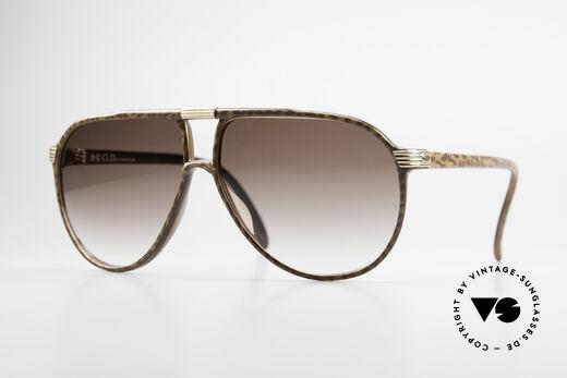 Christian Dior 2300 80er Aviator Sonnenbrille Details