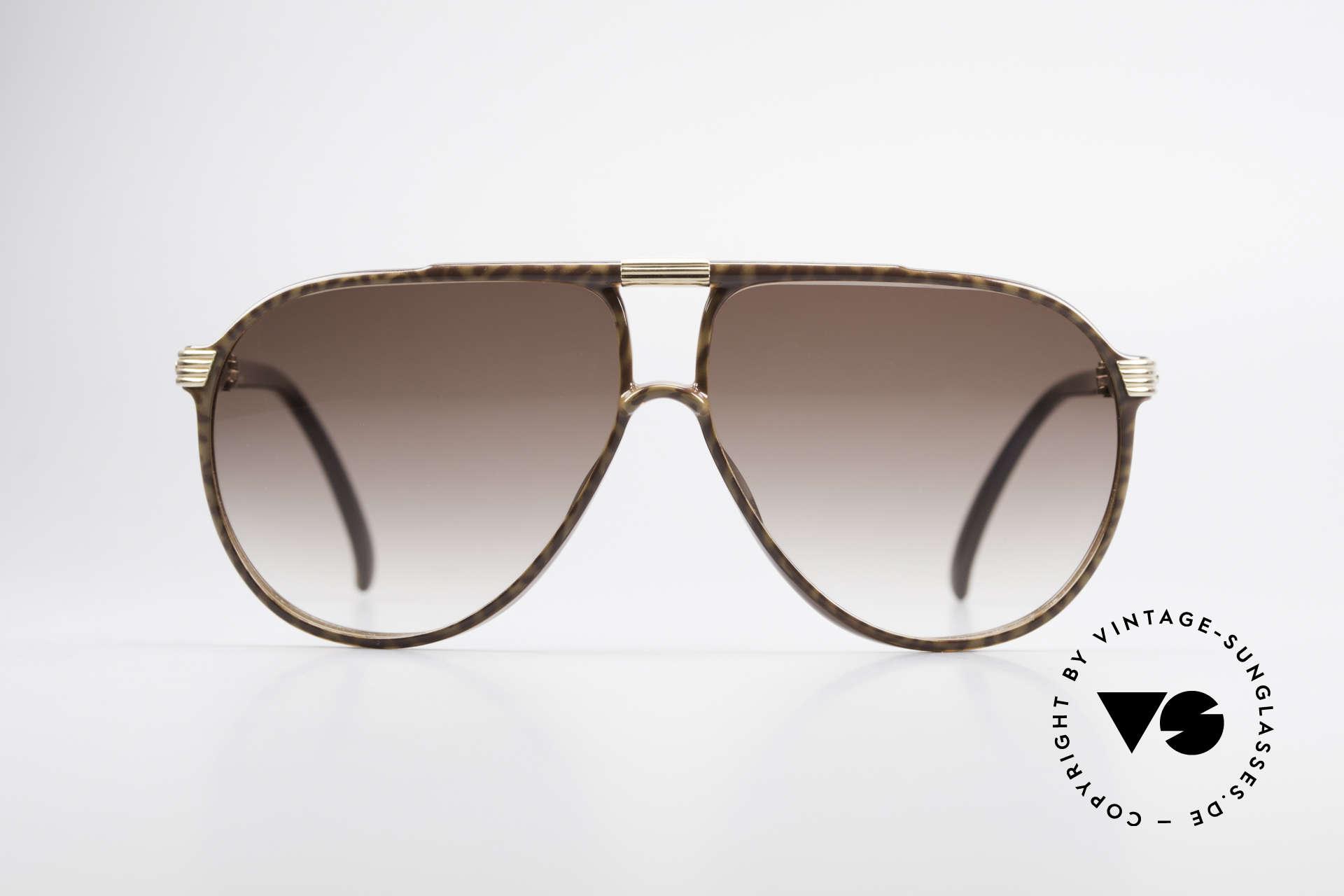Christian Dior 2300 80er Aviator Sonnenbrille, damalige, klassische Tropfenform oder Pilotenform, Passend für Herren