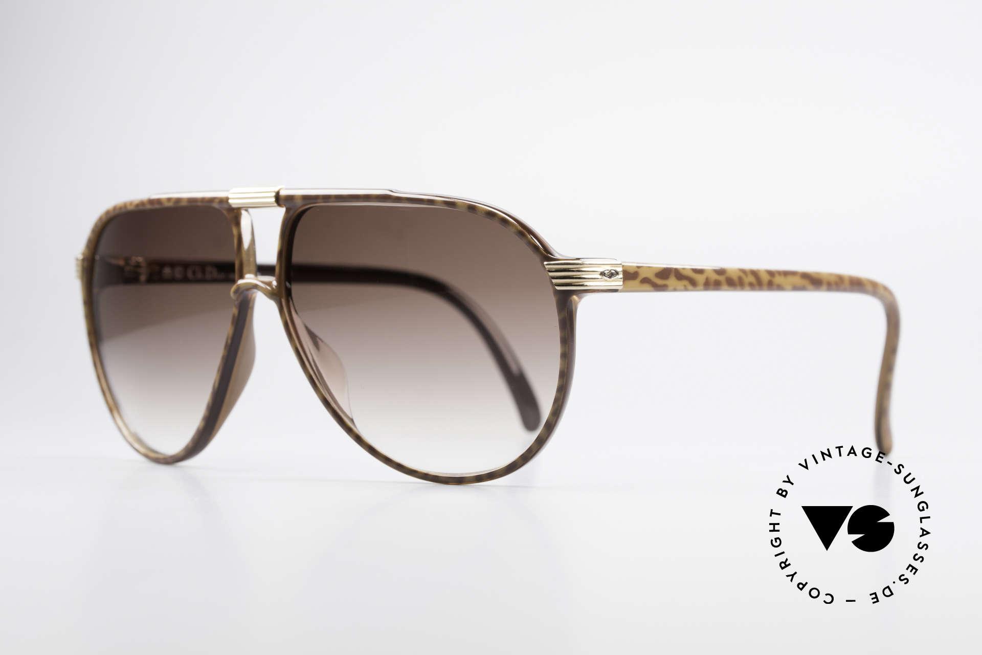 Christian Dior 2300 80er Aviator Sonnenbrille, Top-Qualität dank herausragendem OPTYL-Material, Passend für Herren