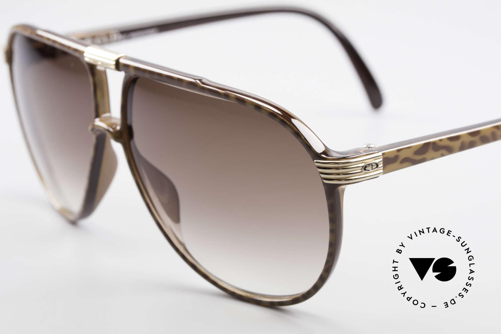 Christian Dior 2300 80er Aviator Sonnenbrille, der Kunststoff scheint wie für die Ewigkeit gemacht, Passend für Herren