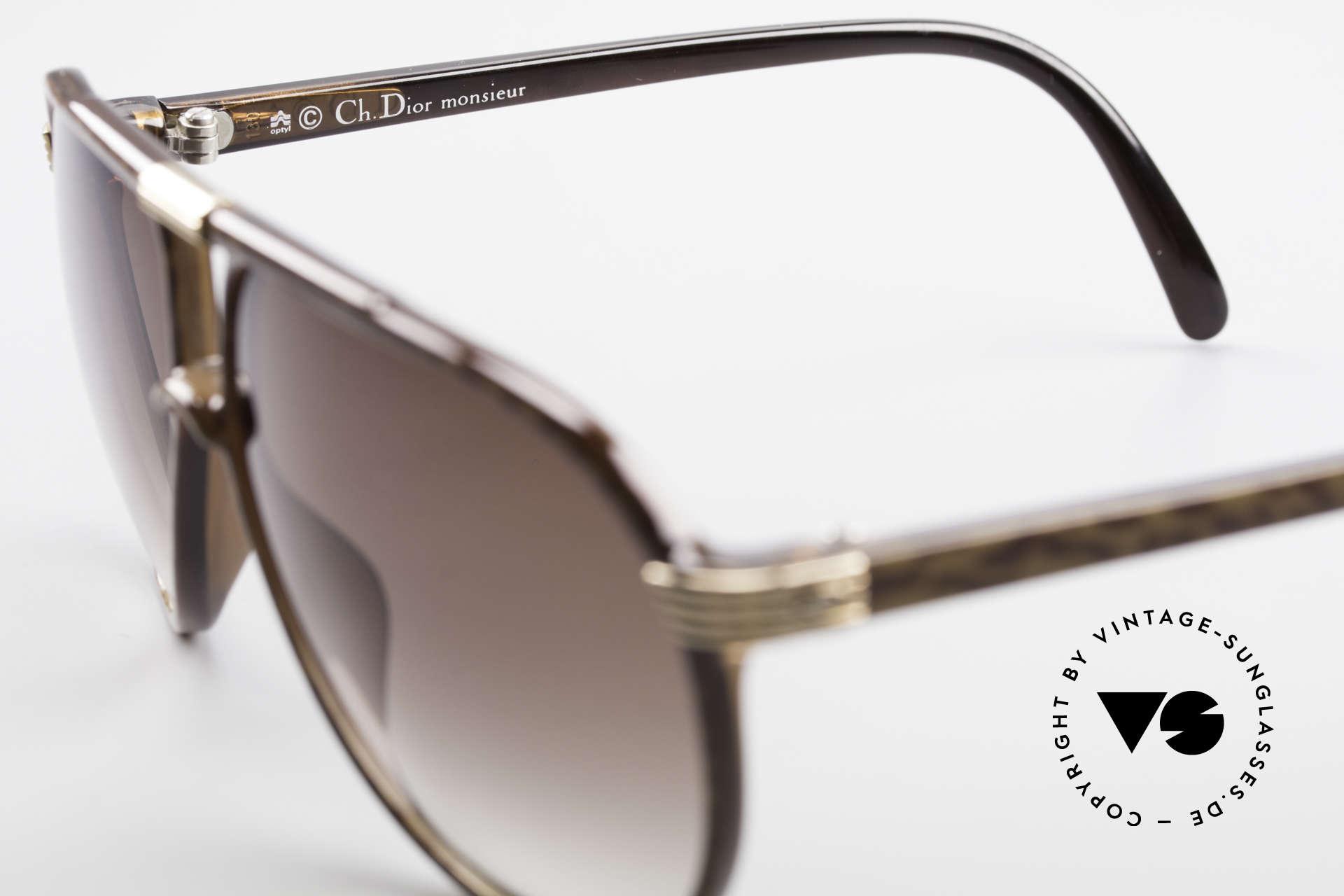 Christian Dior 2300 80er Aviator Sonnenbrille, ungetragen (wie alle unsere Dior Monsieur Brillen), Passend für Herren