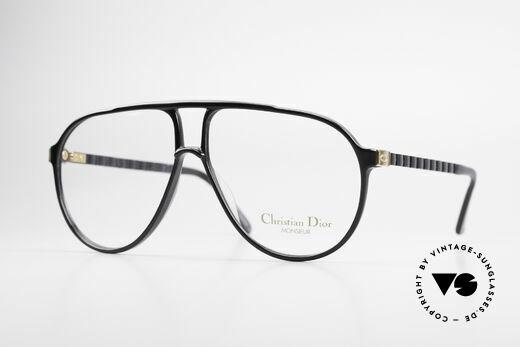 Christian Dior 2469 80er Monsieur Vintage Brille Details