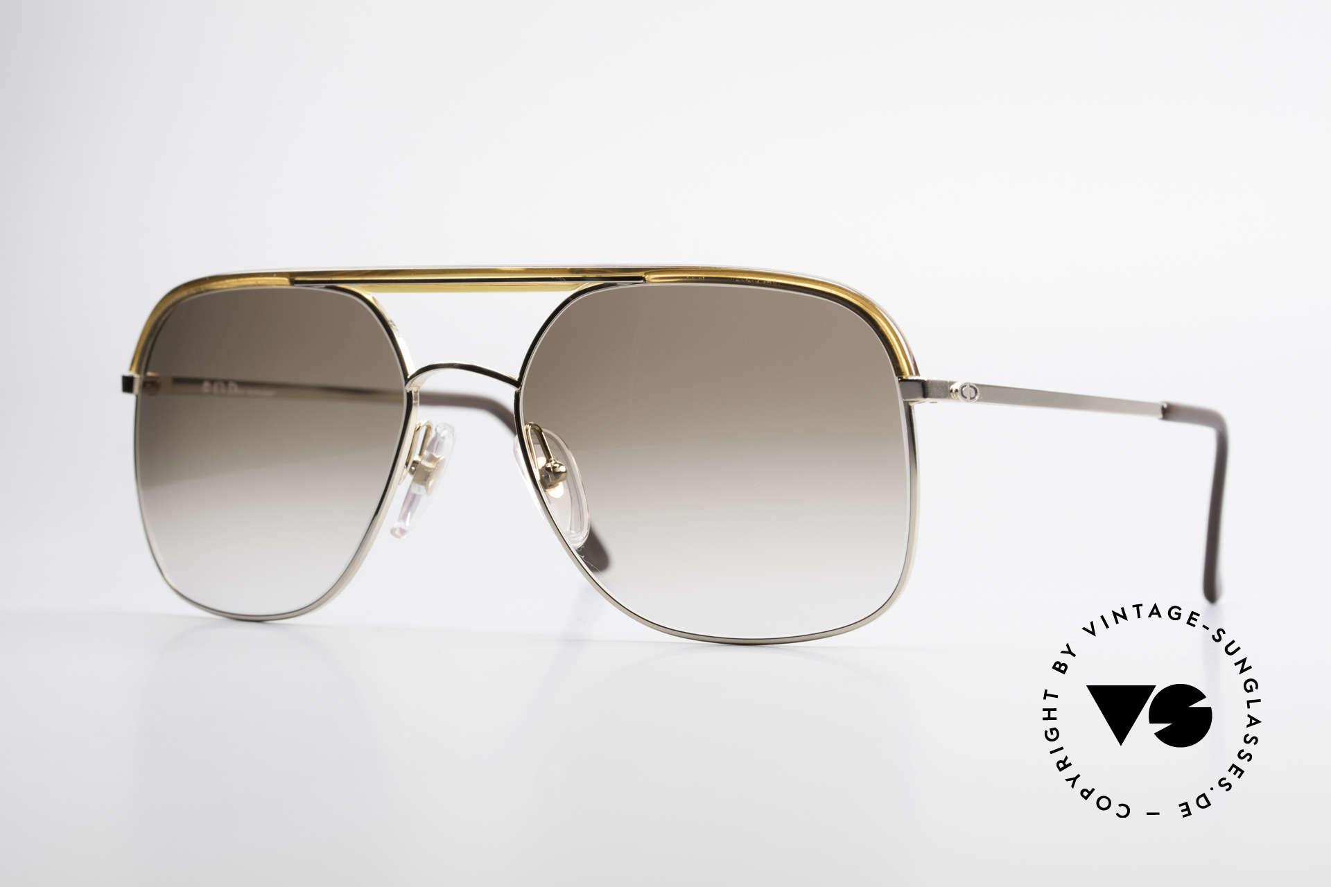 """Christian Dior 2247 80er Herren Sonnenbrille, vintage Sonnenbrille aus der """"Monsieur"""" Serie von Dior, Passend für Herren"""