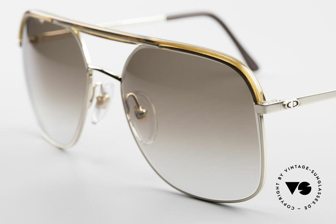 Christian Dior 2247 80er Herren Sonnenbrille, ungetragen (wie all unsere vintage Christian Dior Brillen), Passend für Herren