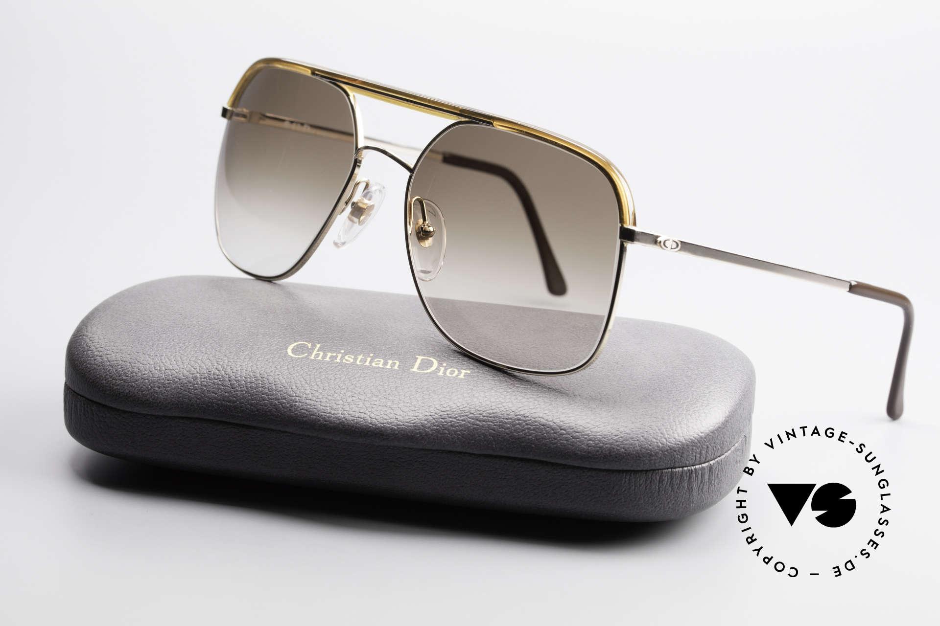 Christian Dior 2247 80er Herren Sonnenbrille, Sonnengläser (100% UV) können beliebig ersetzt werden, Passend für Herren