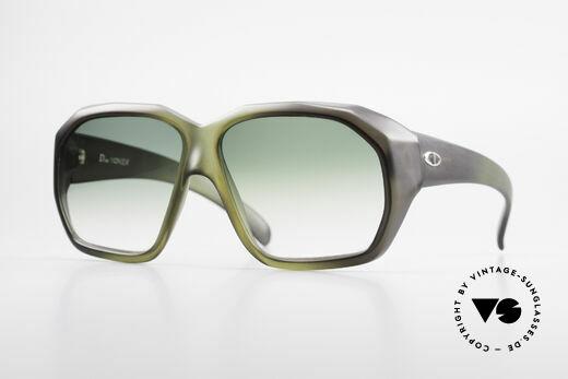 Christian Dior 2001 70er Optyl Sonnenbrille XL Details