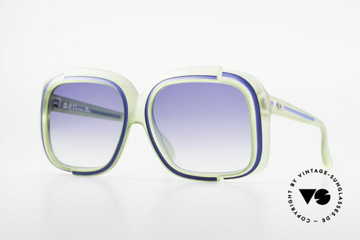 Christian Dior 2042 Vintage Sonnenbrille 1970er Details