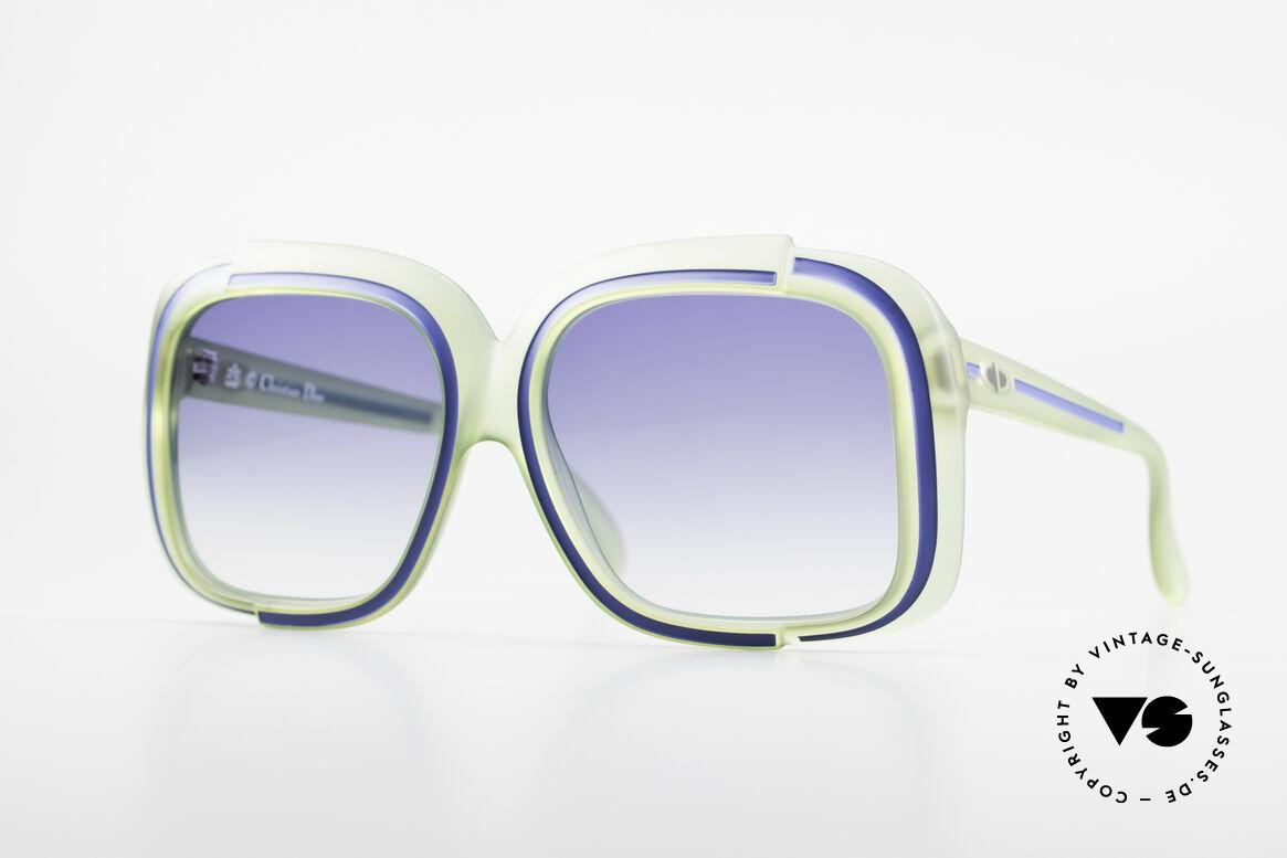 Christian Dior 2042 Vintage Sonnenbrille 1970er, zauberhafte Dior Designersonnenbrille aus den 70ern, Passend für Damen