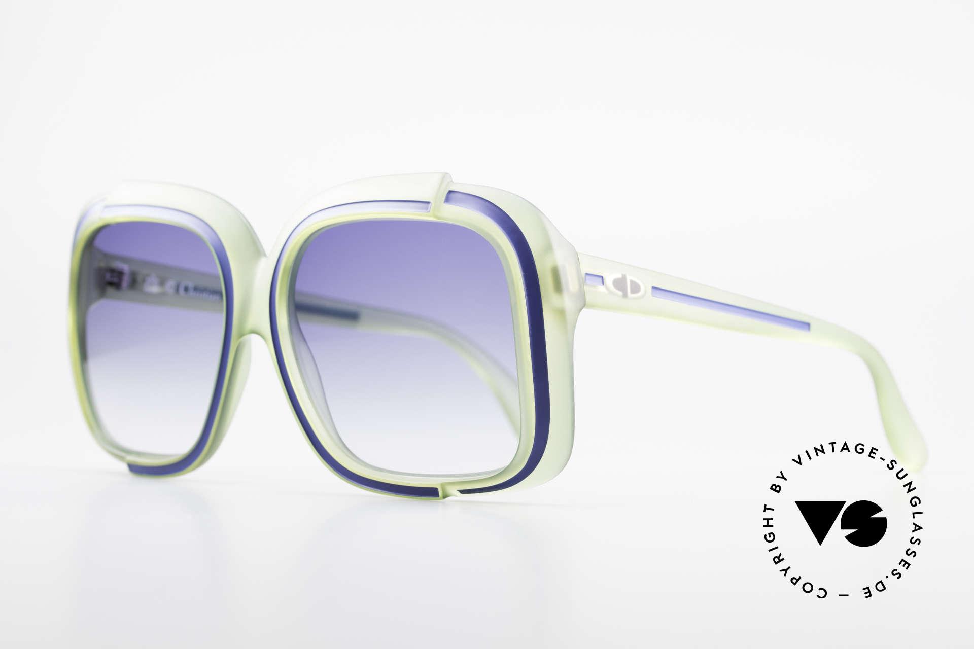 Christian Dior 2042 Vintage Sonnenbrille 1970er, eine wahre Rarität und inzwischen ein Sammlerstück, Passend für Damen