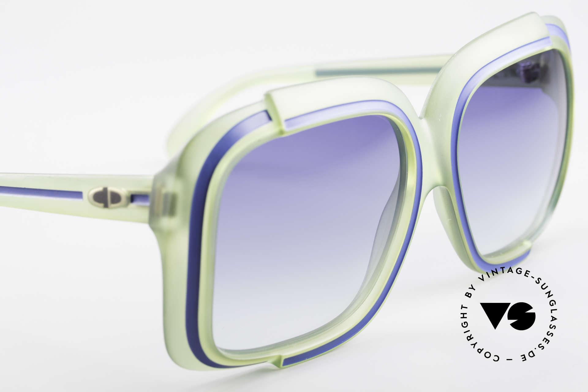 Christian Dior 2042 Vintage Sonnenbrille 1970er, das Modell scheint nicht zu altern und glänzt wie neu, Passend für Damen