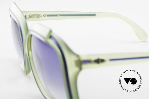Christian Dior 2042 Vintage Sonnenbrille 1970er, typische Farbgebung für die damalige Zeit; echt vintage, Passend für Damen