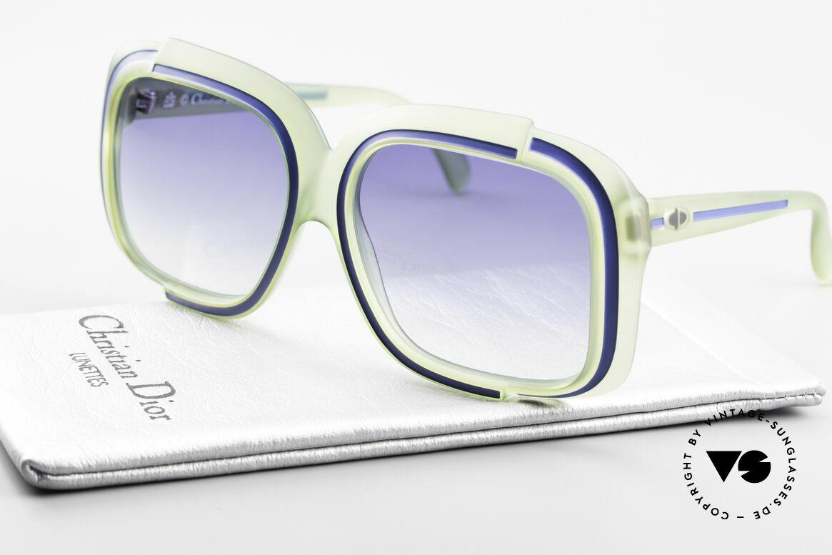 Christian Dior 2042 Vintage Sonnenbrille 1970er, KEINE Retrobrille; ein 40 Jahre altes ungetragen Unikat, Passend für Damen