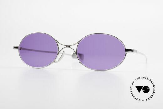Jean Paul Gaultier 55-0173 Ovale Designer Sonnenbrille Details