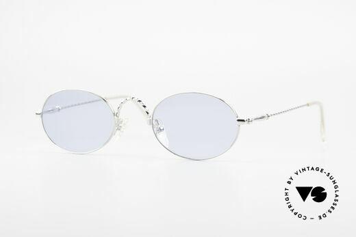Jean Paul Gaultier 55-0175 Ovale Vintage Sonnenbrille Details