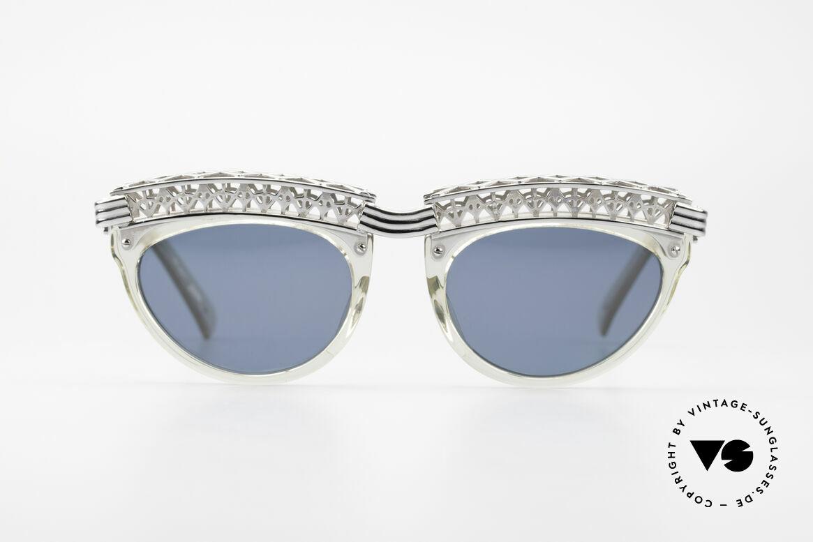 Jean Paul Gaultier 56-0271 Eifelturm Rihanna Sonnenbrille, unglaubliche Qualität (wie aus einem Guss), Passend für Damen