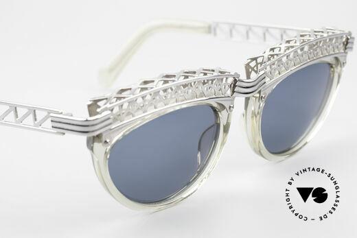 Jean Paul Gaultier 56-0271 Eifelturm Rihanna Sonnenbrille, unbenutzt (wie alle unsere vintage Originale), Passend für Damen