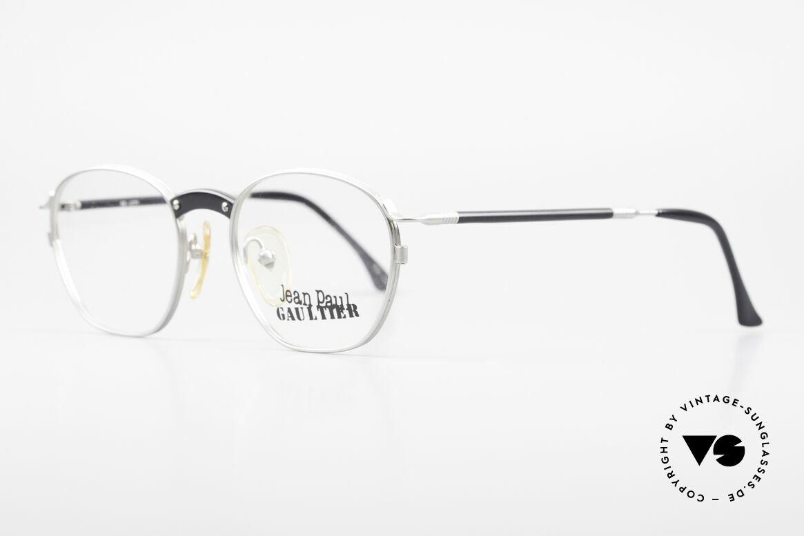 Jean Paul Gaultier 55-1271 Rare Alte Vintage Brille JPG, zeitlos elegant in Farbe und Form und in Top-Qualität, Passend für Herren und Damen