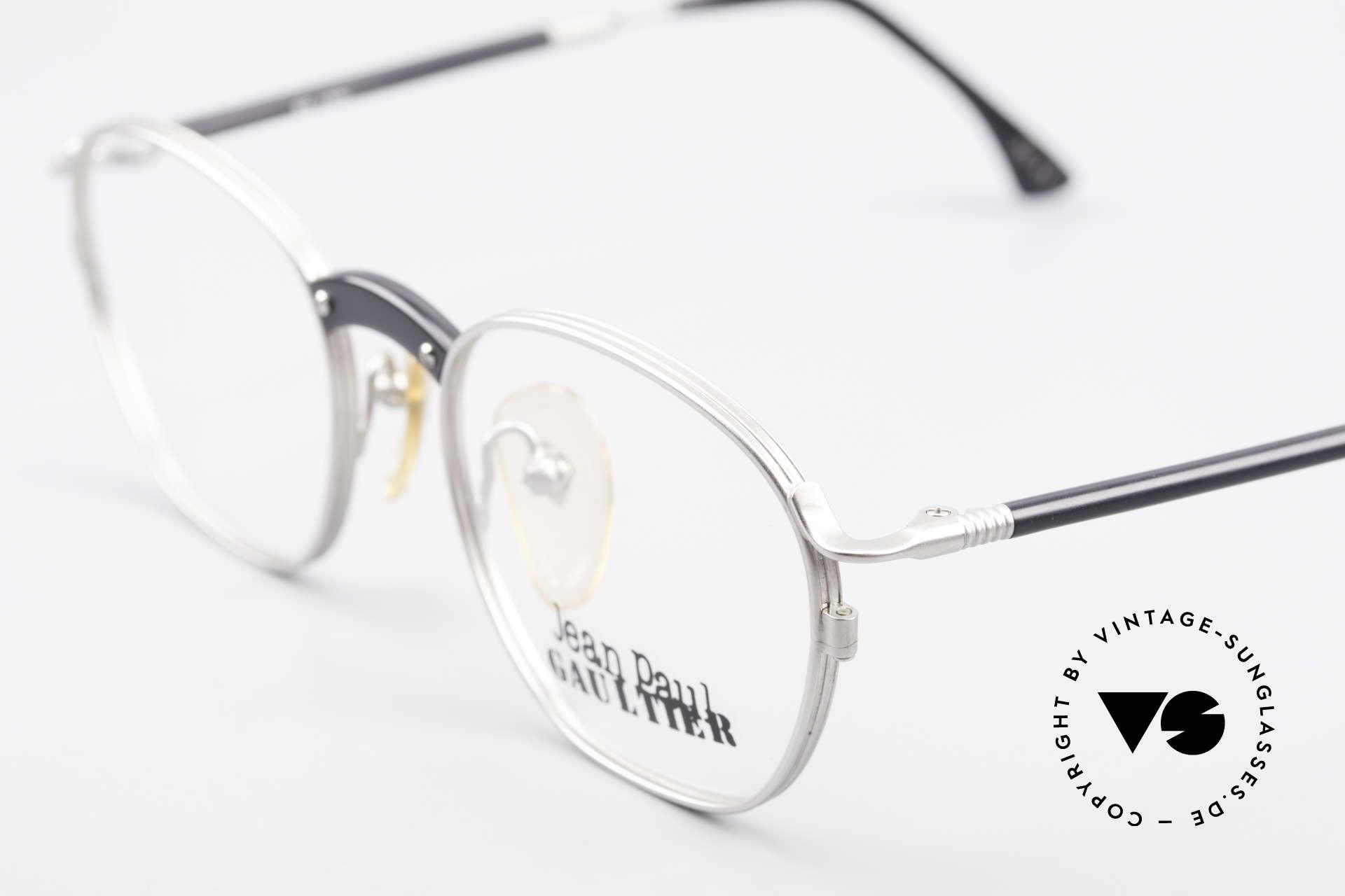 Jean Paul Gaultier 55-1271 Rare Alte Vintage Brille JPG, unbenutzt (wie alle unsere vintage JP Gaultier Brillen), Passend für Herren und Damen