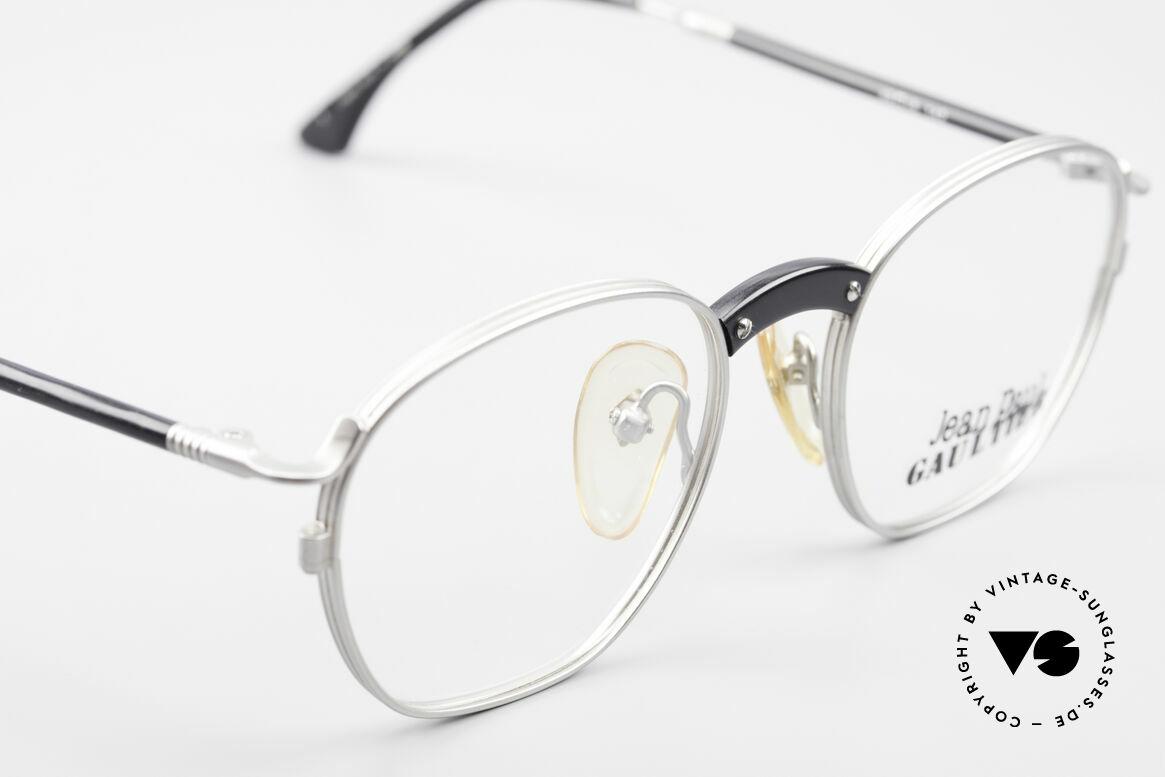 Jean Paul Gaultier 55-1271 Rare Alte Vintage Brille JPG, KEINE Retrosonnenbrille; ein 25 Jahre altes ORIGINAL, Passend für Herren und Damen
