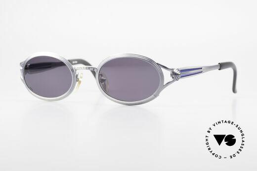 Jean Paul Gaultier 56-7114 Ovale JPG Steampunk Brille Details