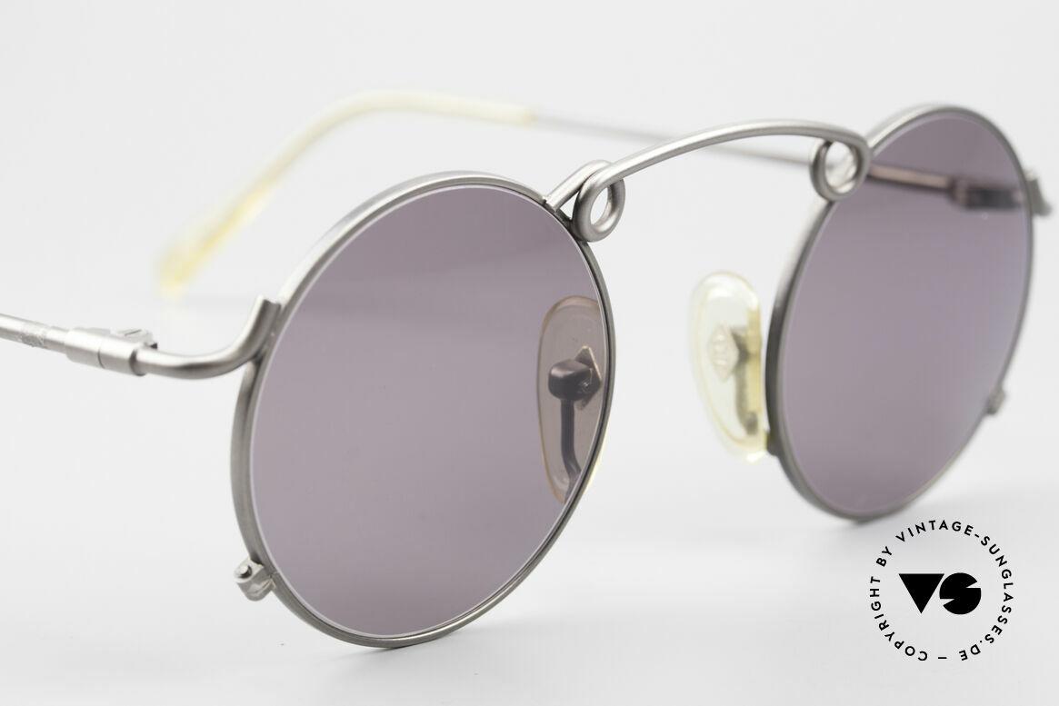 Jean Paul Gaultier 56-1178 Kunstvolle Panto Sonnenbrille, KEINE RETRO-Sonnenbrille, 100% vintage ORIGINAL!, Passend für Herren und Damen