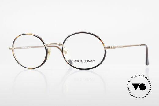 Giorgio Armani 223 Ovale Vintage Brille 90er Details